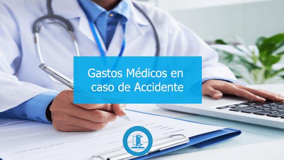 gastos medicos accidente de trafico