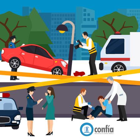 gastos medicos accidente de tráfico