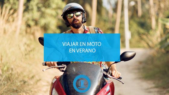 Viajar en moto en verano