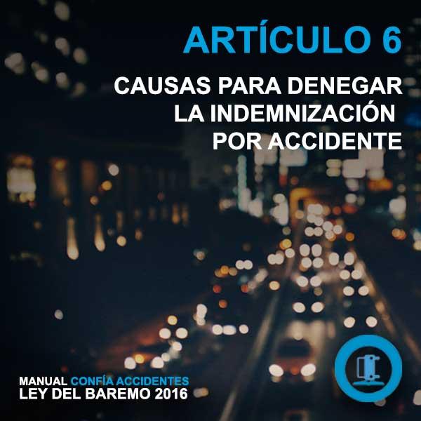 imagen articulo 6 baremo de accidentes 2016