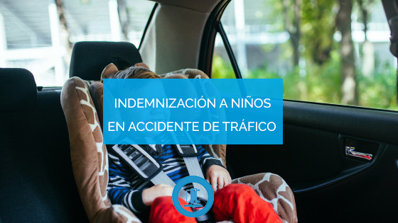 indemnización por accidente de tráfico niños
