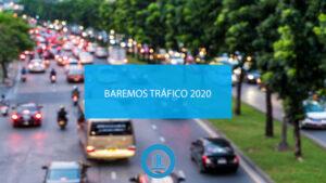 Baremo tráfico 2020
